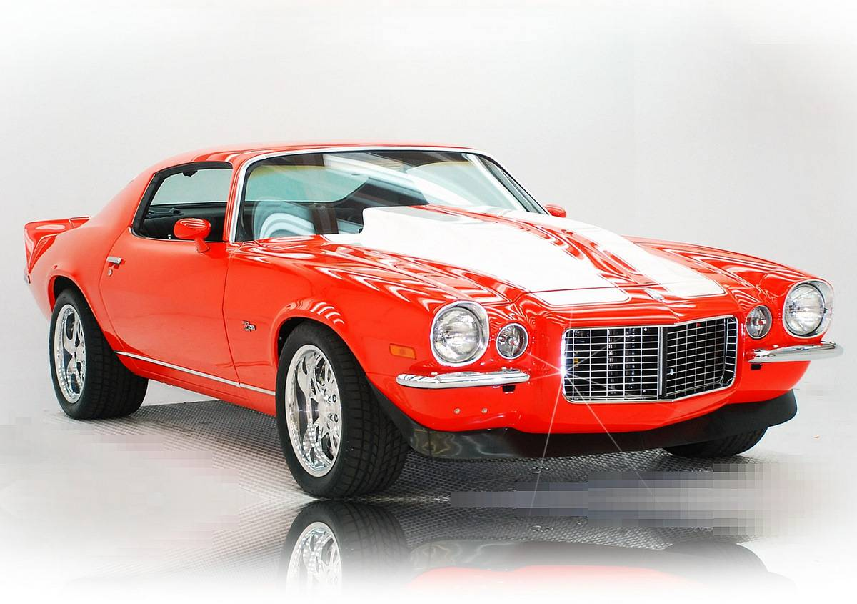 hight resolution of 1973 camaro z28 real deal pro touring show and go
