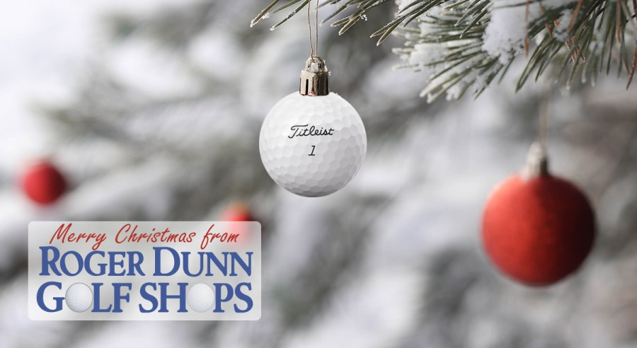 Merry Christmas from Roger Dunn Golf Shops