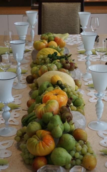 A market-fresh table