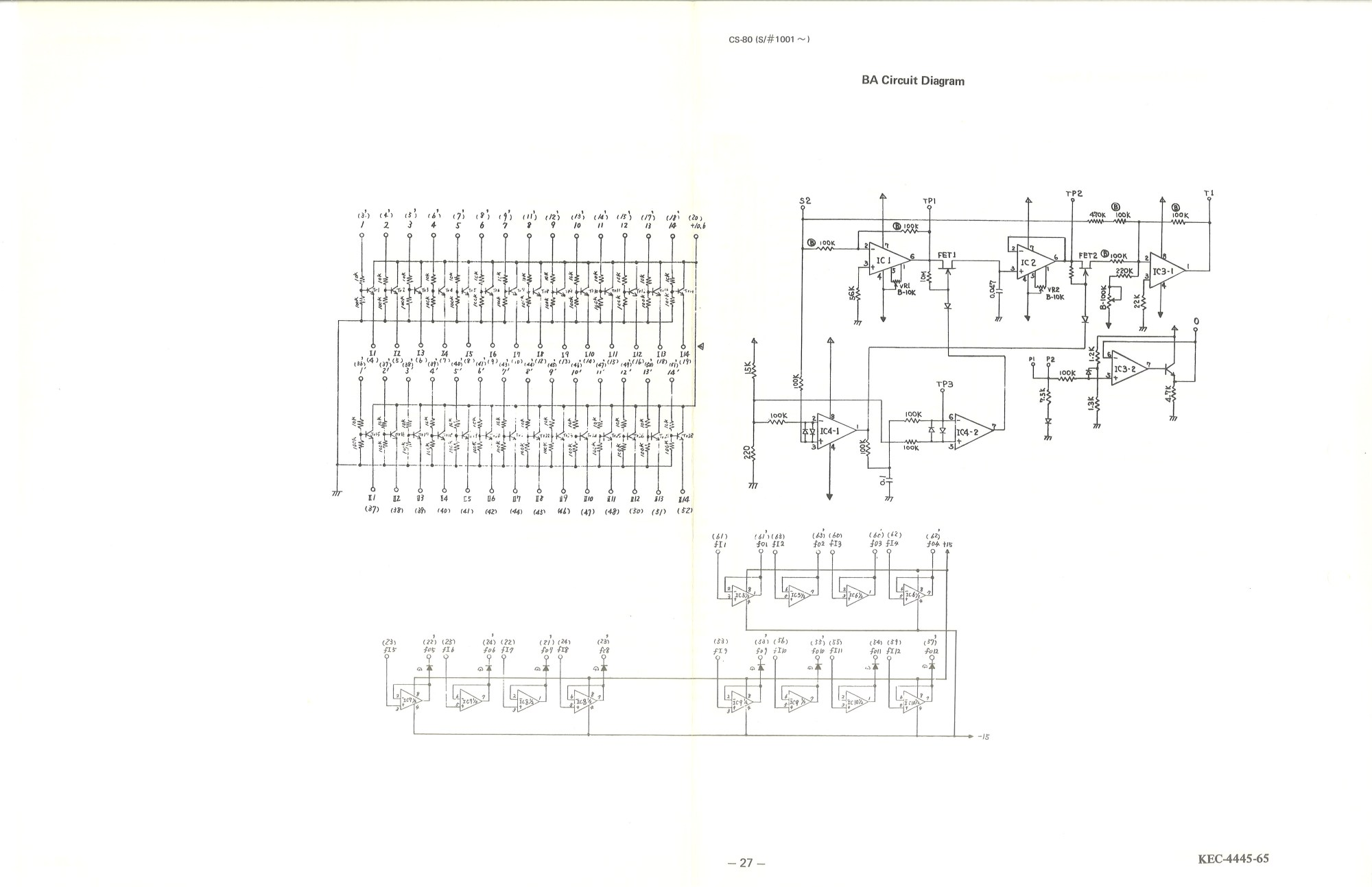 hight resolution of yamaha f8 wiring diagram wiring diagramyamaha cs 80 service manual27 ba circuit diagram