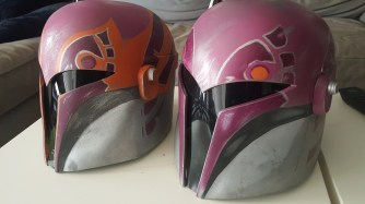 Sabine Wren helmet build s1 s2
