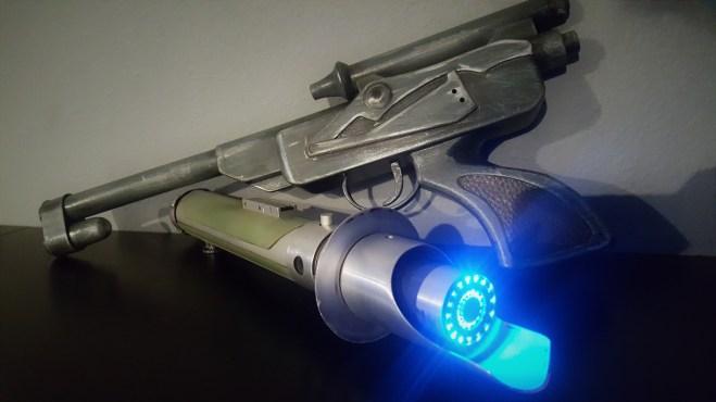 LTOy DL-18 lightsaber rebel saber forge