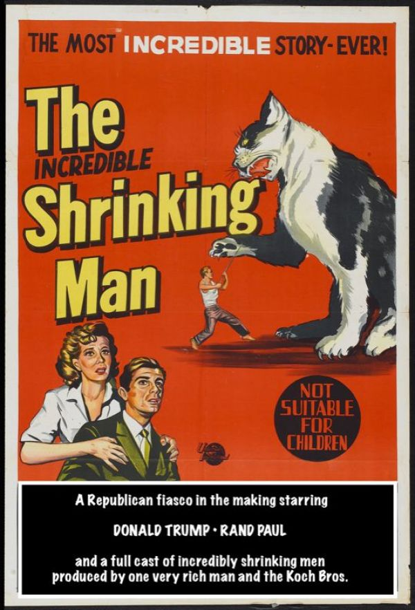 COMMENT.INCREDIBLE SHRINKING MAN