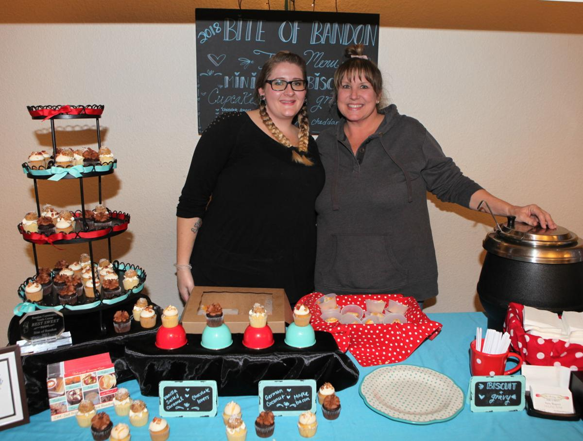 "the owners winning bite of bandon ""best sweet"" award in 2018"