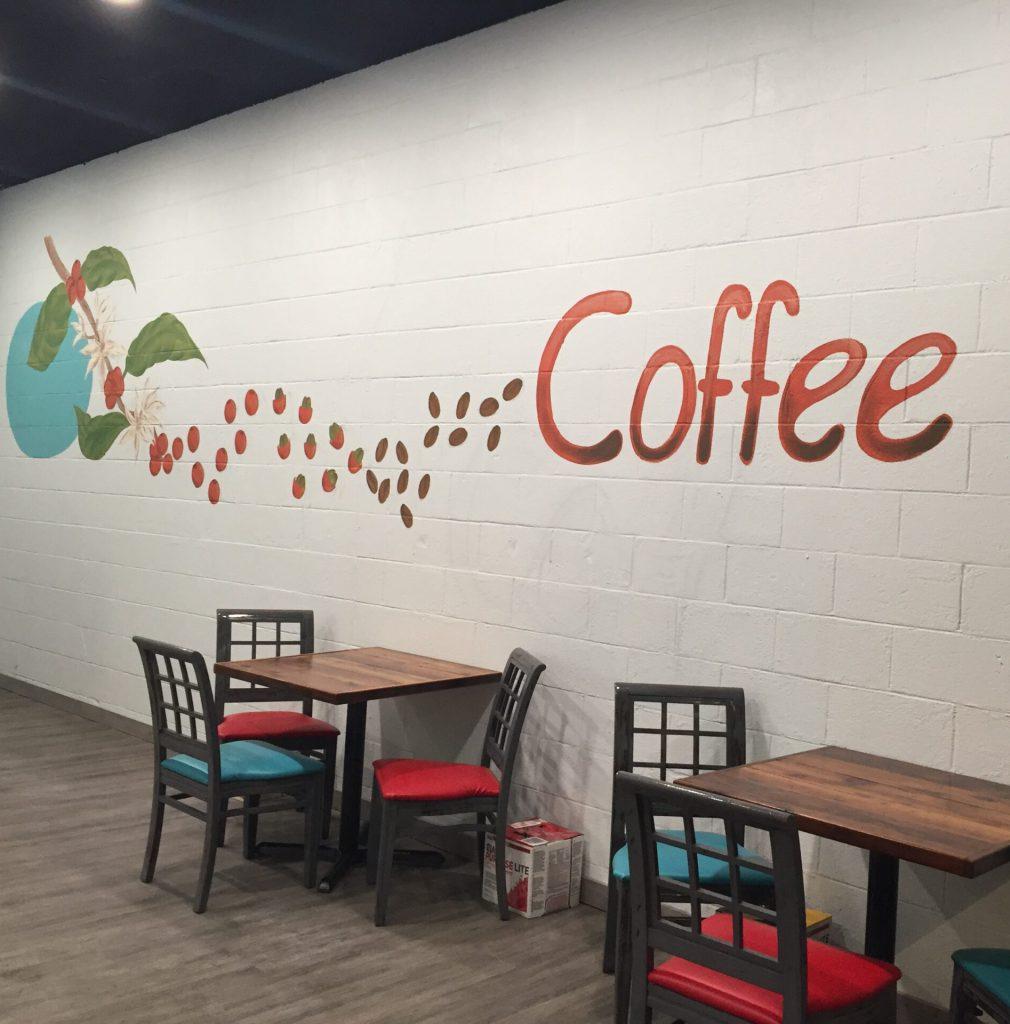 Coffee Mural