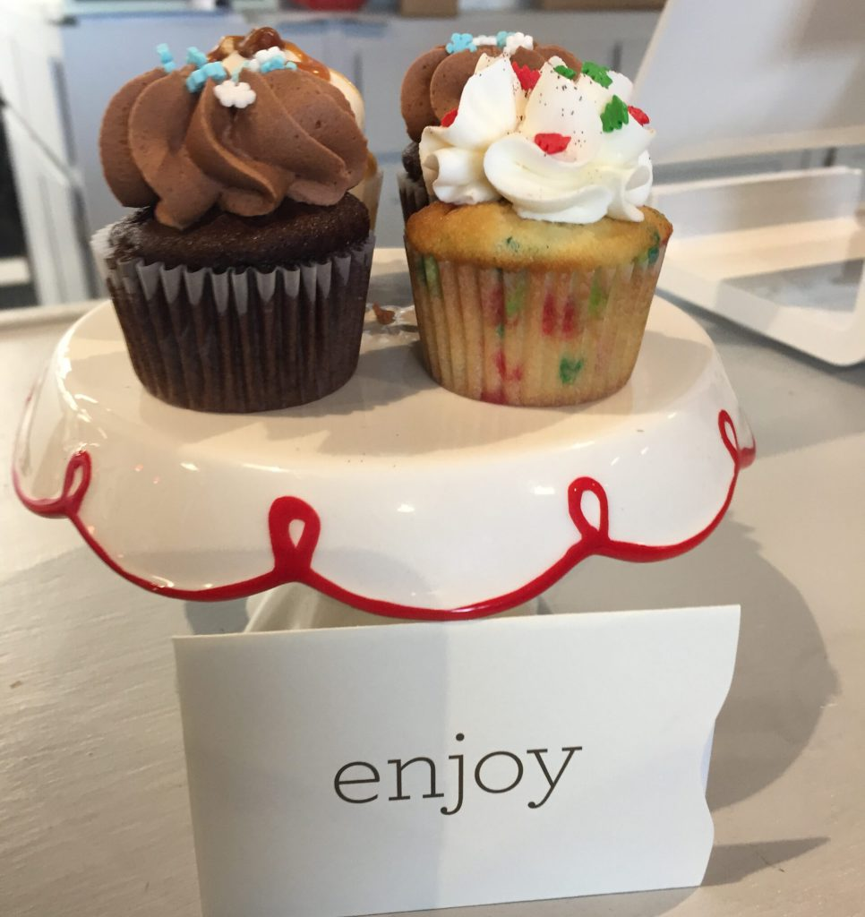 Tasty cupcakes. Yum!