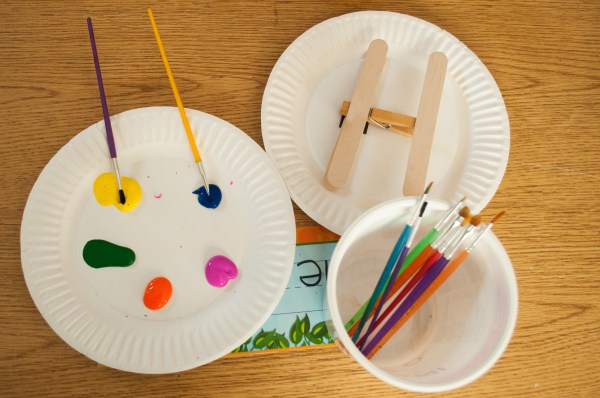 Paper Plate Airplane Craft