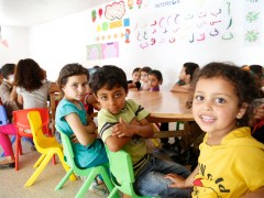 Report highlights progress in education for refugee kids