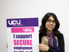 Open University gets top marks for job security