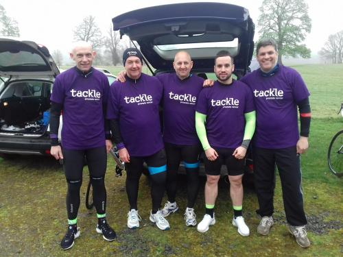 Cyclists aim for the Moon to tackle cancer