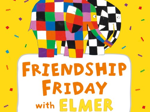 Elmer The Patchwork Elephant teams up with anti-bullying charity