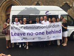 London Mayor joins charities and doctors to spread the word about hepatitis C