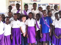 Chichester pupils inspired to action by Ugandan young rights activists