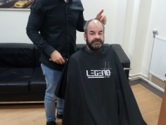 Barber's boosts men's mental health at homeless hostel