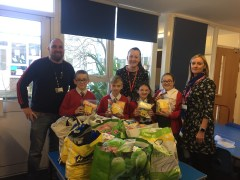 Doncaster schoolchildren hold appeal for homeless people