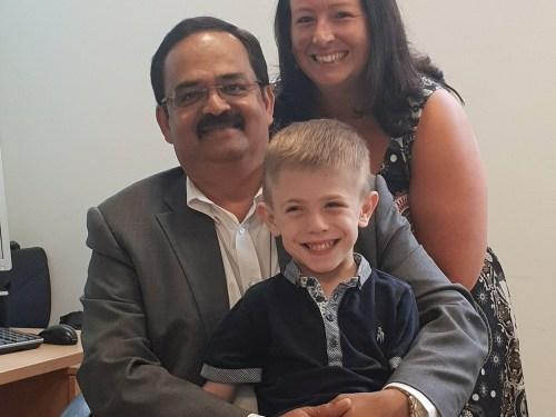 Essex six year old in charity award bid
