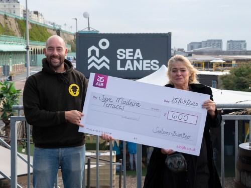 Brighton Seafront restoration fund receives donation