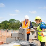 Partnership provides essential work experience to construction students