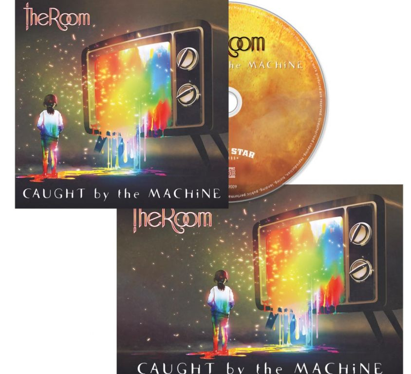 Caught by the Machine (CD) + limited edition signed postcard