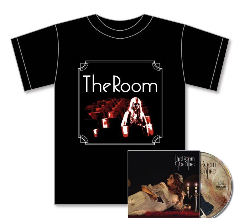Open Fire CD + T-shirt