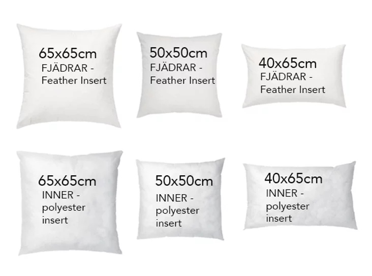 cover sizes the room accessories