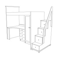 bunk bed unit
