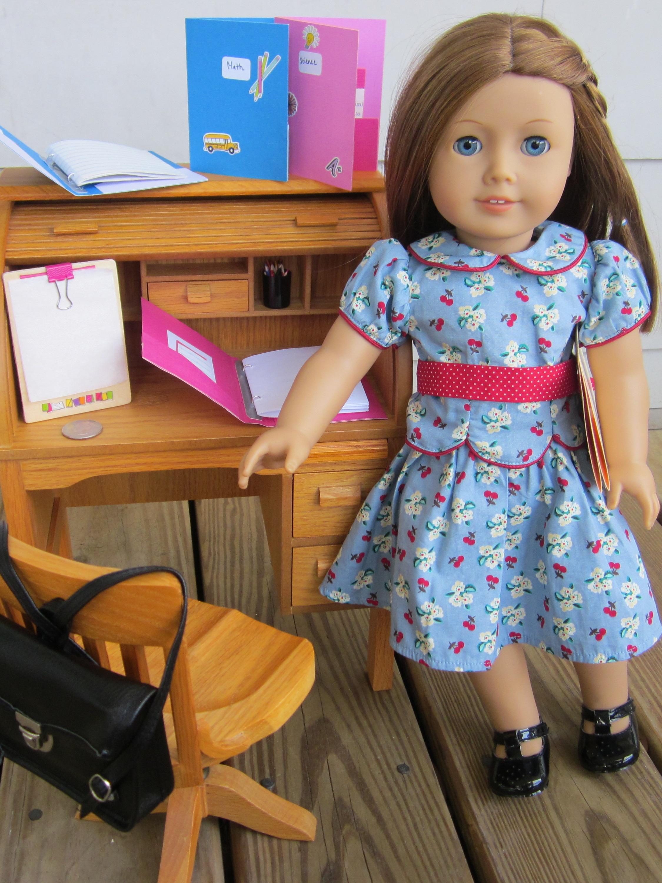 American Girl Goes To School