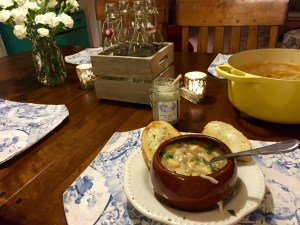 Rustic Potato and Carrot Soup | The Rose Table