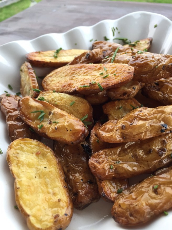 Roasted Fingerling Potatoes with Rosemary | The Rose Table