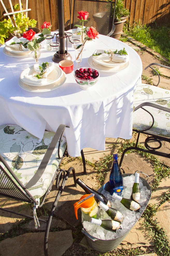 Summer Garden Party Table | The Rose Table
