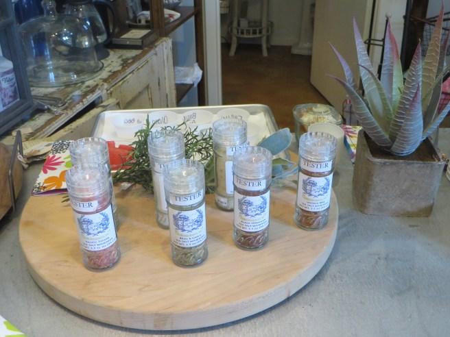 Salt Selection at Clara Ida Frances | The Rose Table