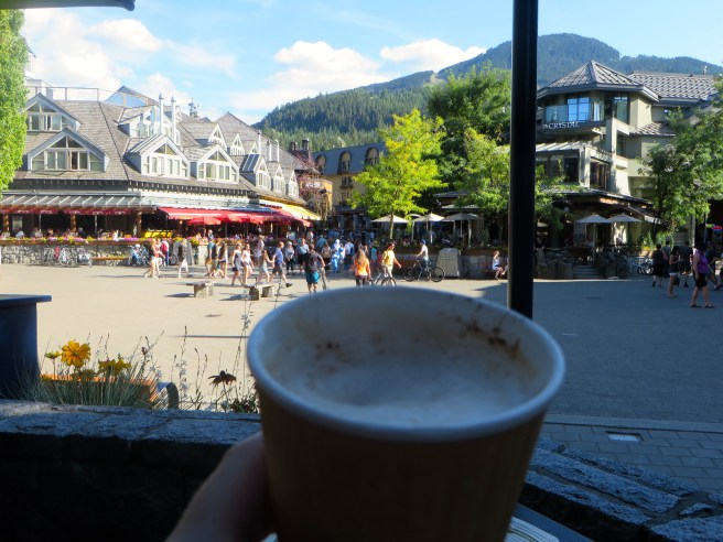 Cappuccino in Whistler, BC | The Rose Table