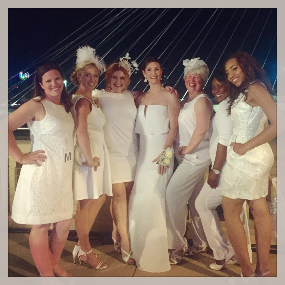 Diner en Blanc Dallas team