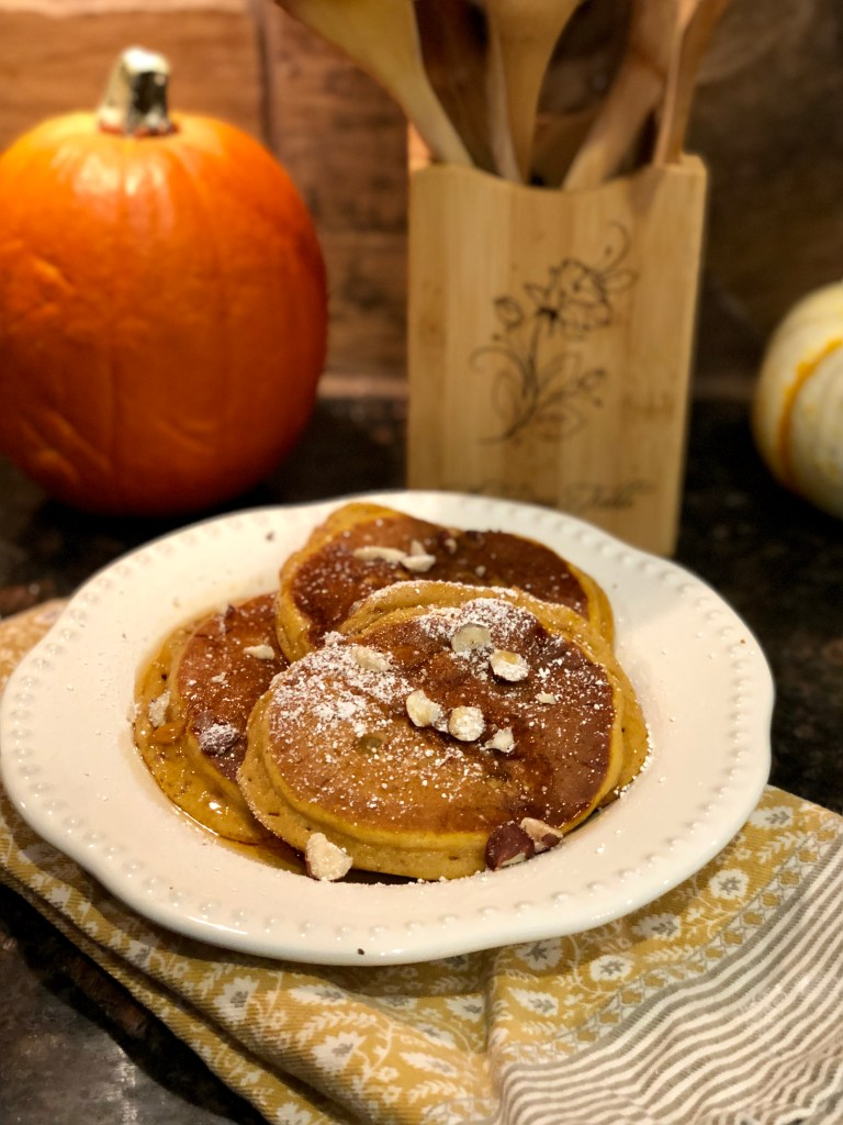 Pumpkin Pancakes | The Rose Table
