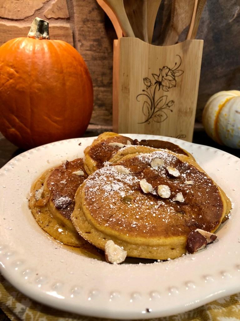 Pumpkin Pancakes | The Rose Table