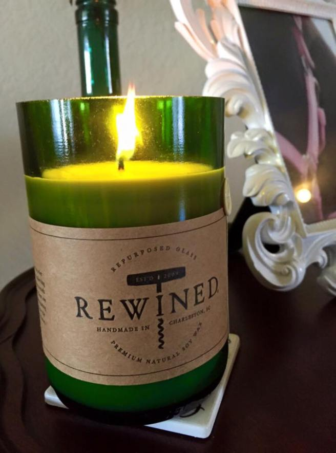 Rewined Candles | The Rose Table