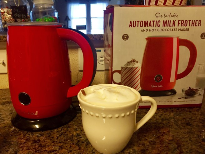 Sur La Table Automatic Milk Frother Review | The Rose Table