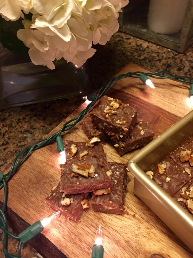 Easy German Chocolate Fudge | The Rose Table