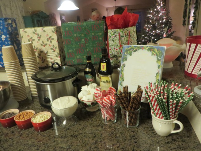 Hot Cocoa Bar | The Rose Table