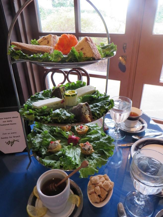 Tea Sandwiches at Dallas Arboretum | The Rose Table