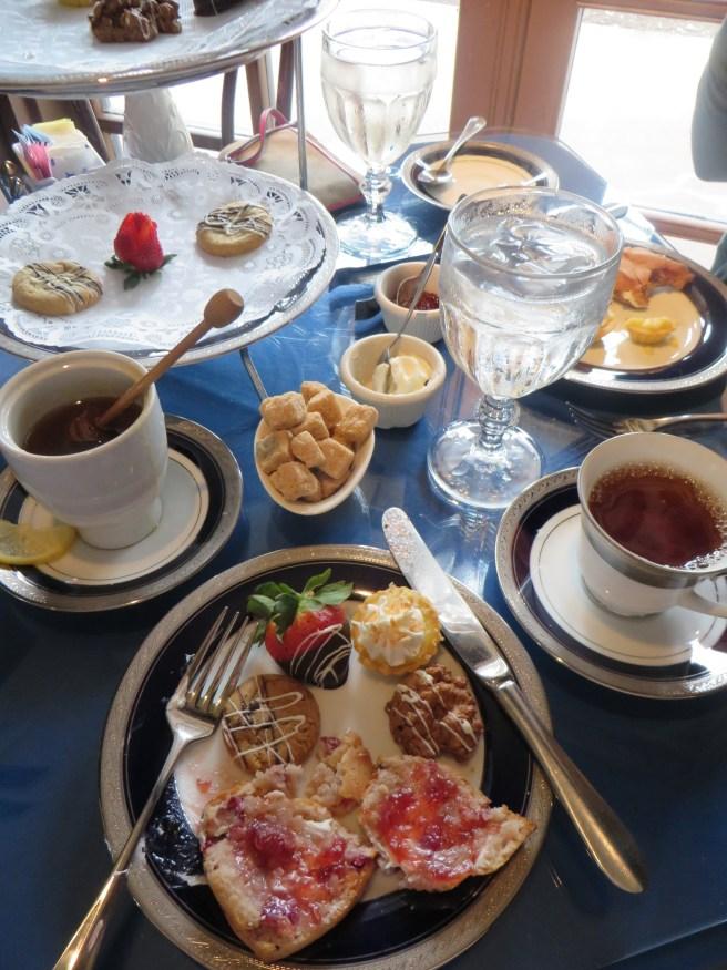 Tea Desserts at Dallas Arboretum | The Rose Table