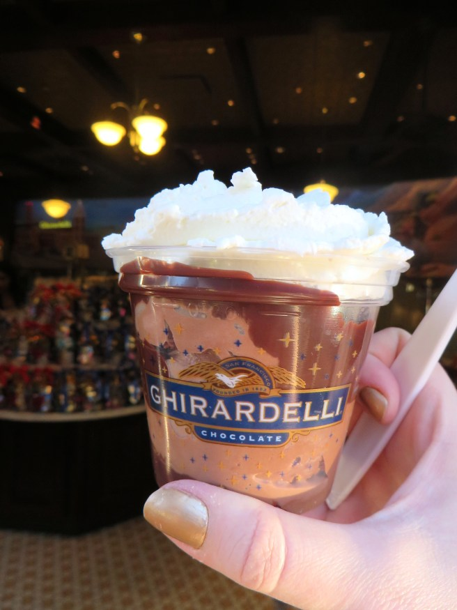 Ghirardeli Soda Fountain & Chocolate Shop Disney's California Adventure Review | The Rose Table