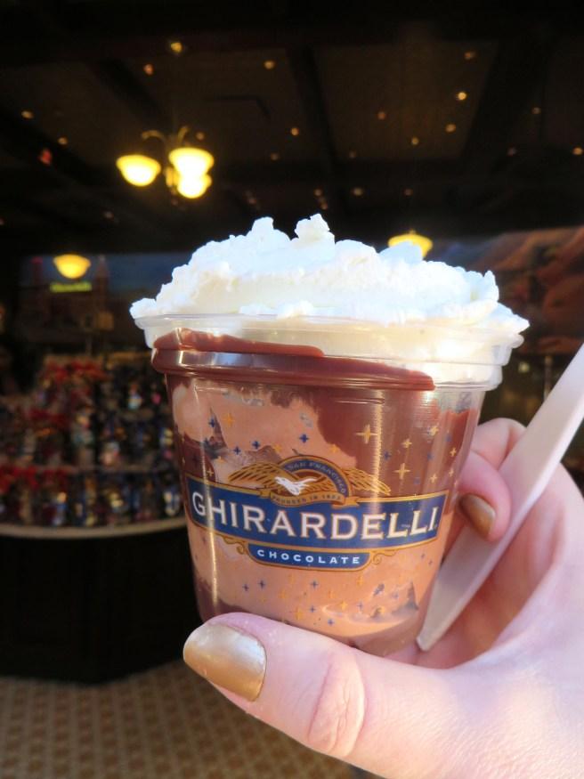 Ghirardeli Soda Fountain & Chocolate Shop Disney's California Adventure Review | The Rose Table