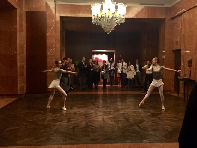 Avant Chamber Ballet MontaguWines Wine Tasting | The Rose Table