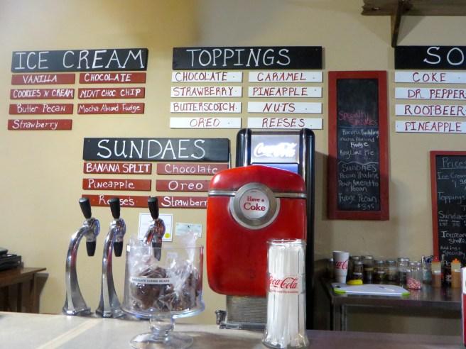 Shoo-Fly Soda Shop Glen Rose TX | The Rose Table