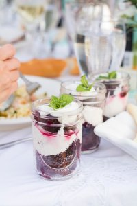 Blackberry Brownie Trifle   The Rose Table