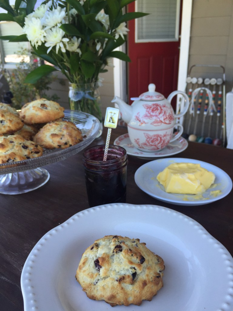 Cranberry Vanilla Buttermilk Scones | The Rose Table