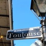 Toulouse Street, New Orleans
