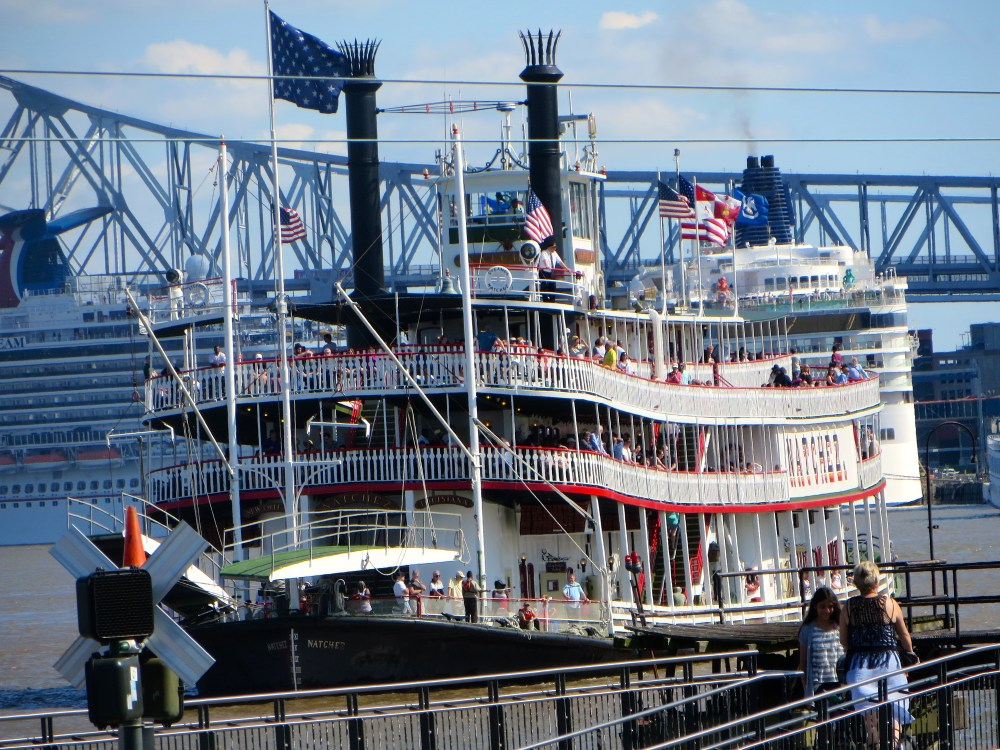 Steamboat Natchez New Orleans | The Rose Table