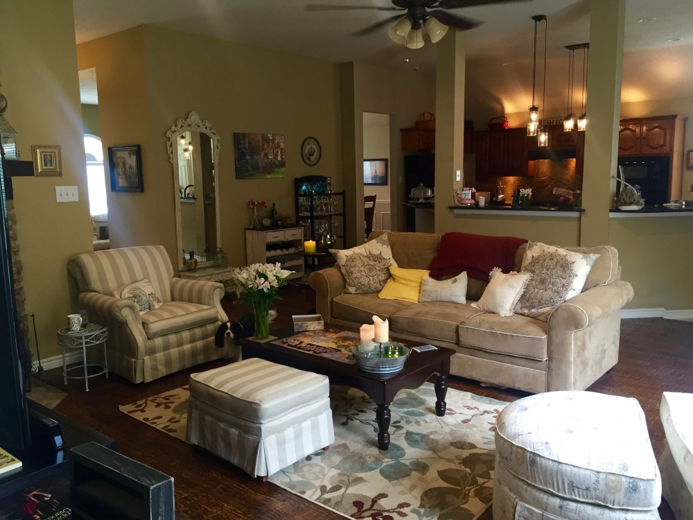The Living Room | The Rose Table